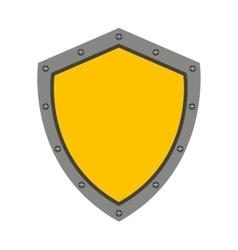 Shield guard isolated icon design vector