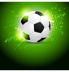 Soccer ball design vector