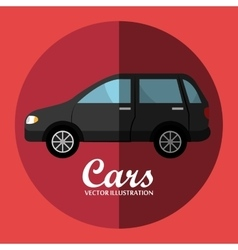 Cars and vehicles graphic vector
