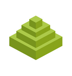 module brick icon lego piece of puzzle icon vector image