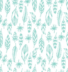 Plumage seamless vector