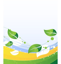 Conceptual nature background vector