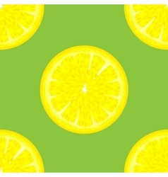 Sliced citrus seamless pattern vector