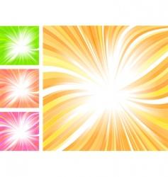 beautiful glow vector image