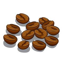 Coffee beans vector