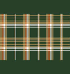 Green tartan check plaid seamless pattern vector