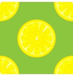Sliced Citrus Seamless Pattern vector image