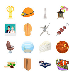 transport mine space and other web icon in vector image vector image