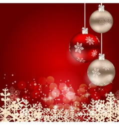 Elegant Christmas Background vector image