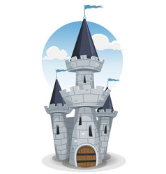 Castle tower vector