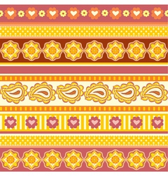 ethnic ornaments vector image vector image