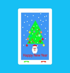 Happy New Year congratulations vector image