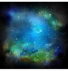 The Galaxy vector image vector image