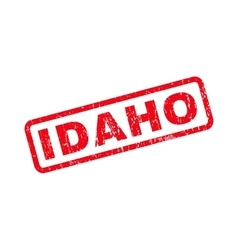 Idaho rubber stamp vector