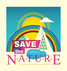 Save the nature vector