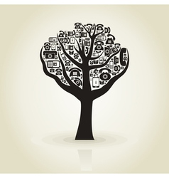 Tree phone vector