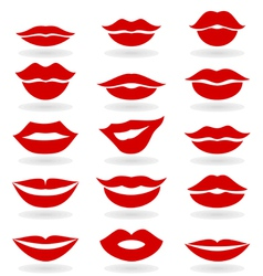 Lips6 vector image