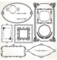 Design borders and frames vector