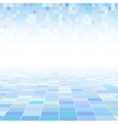 Abstract background with a perspective vector