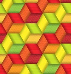 Bright Plastic Basketwork vector image vector image