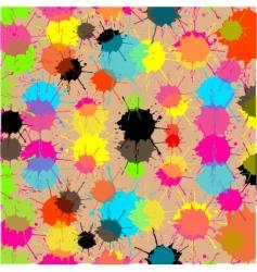 splash cream background vector image vector image