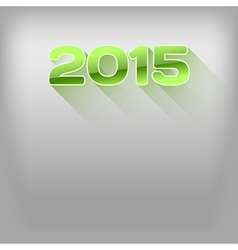 2015 long shadow green vector