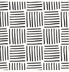 Hand drawn abstract seamless pattern vector