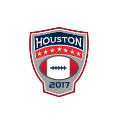 Houston 2017 american football big game crest vector