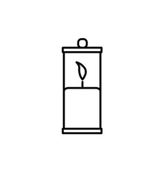 Latern icon vector
