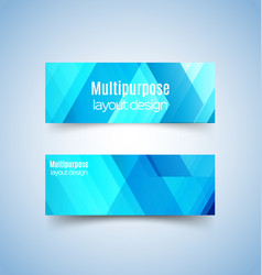 multipurpose layout design 3 vector image vector image