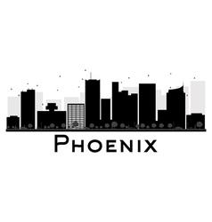 Phoenix silhouette vector