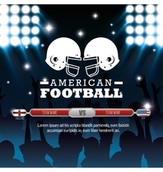 American football sport icon vector