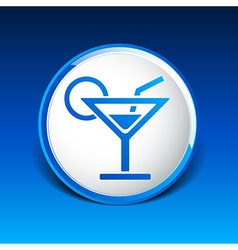 Pub wine drinks cold liquid logo cocktail vector