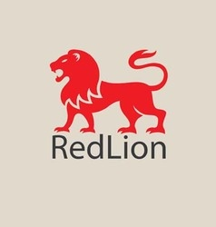 RedLion Logo vector image