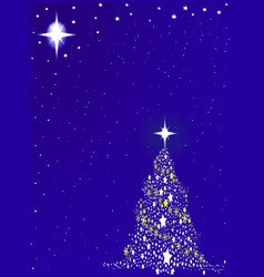 Blue blue christmas vector