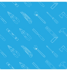 tools seamless 1 vector image vector image