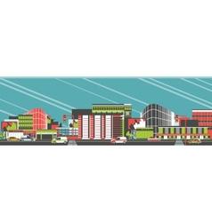 Townhouse shop vector image