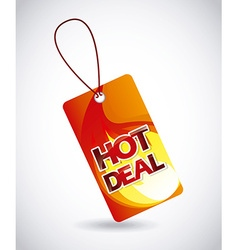Hot deal vector