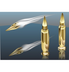 Bullet smoke vector