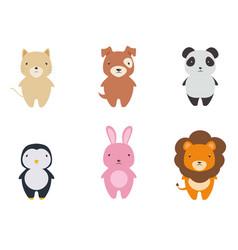 Cute animal cartoon vector