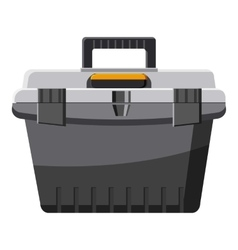 Toolbox icon cartoon style vector
