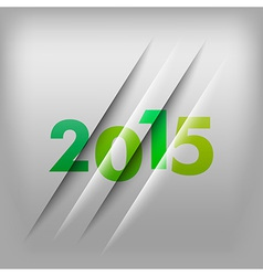 2015 numbers green vector