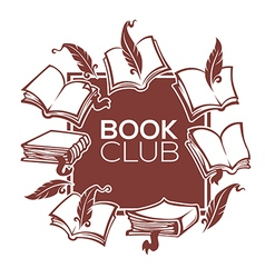book club vector image