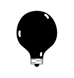 Contour energy bulb to illuminate places vector