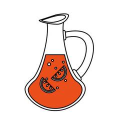 jug vector image