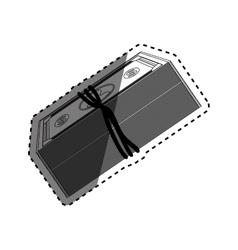 Money billets cash vector image vector image