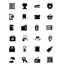 Tools icons 6 vector