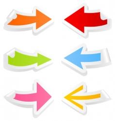 arrow4 vector image