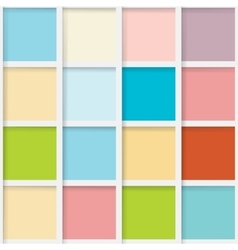 Seamless mosaic from colorful squares vector