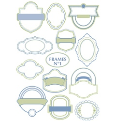 Frame set vector
